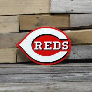 "Cincinnati Reds 12"" Steel Logo Sign"