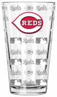 Cincinnati Reds 16 oz. Sandblasted Pint Glass