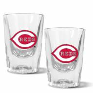 Cincinnati Reds 2 oz. Prism Shot Glass Set