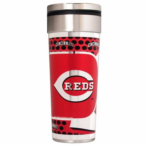 Cincinnati Reds 22 oz. Hi Def Travel Tumbler
