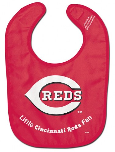 Cincinnati Reds All Pro Little Fan Baby Bib
