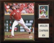 "Cincinnati Reds Aroldis Chapman 12"" x 15"" Player Plaque"