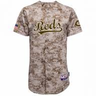 Cincinnati Reds Authentic Camo Alternate Baseball Jersey