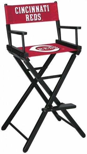 Cincinnati Reds Bar Height Director's Chair