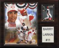 "Cincinnati Reds Barry Larkin 12"" x 15"" Player Plaque"