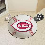 Cincinnati Reds Baseball Rug