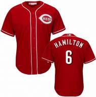 Cincinnati Reds Billy Hamilton Replica Scarlet Alternate Baseball Jersey