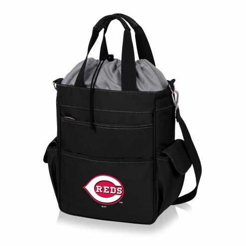 Cincinnati Reds Black Activo Cooler Tote