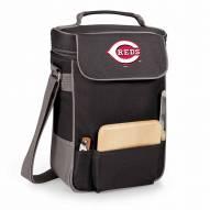 Cincinnati Reds Black Duet Insulated Wine Bag