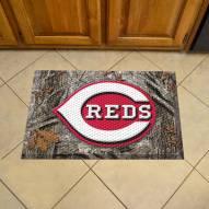 Cincinnati Reds Camo Scraper Door Mat