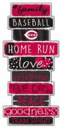 Cincinnati Reds Celebrations Stack Sign