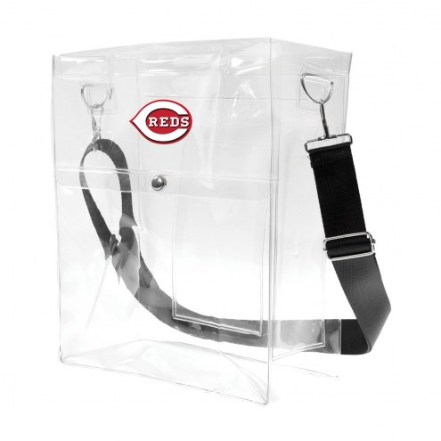 Cincinnati Reds Clear Ticket Satchel