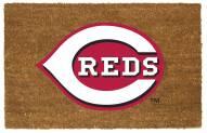 Cincinnati Reds Colored Logo Door Mat