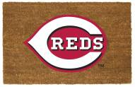 Cincinnati Reds Colored Logo Door Mat