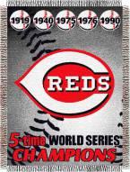 Cincinnati Reds Commemorative Throw Blanket