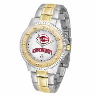 Cincinnati Reds Competitor Two-Tone Men's Watch
