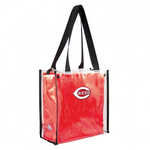 Cincinnati Reds Convertible Clear Tote