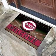 Cincinnati Reds Crumb Rubber Door Mat