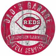 Cincinnati Reds Dad's Garage Sign
