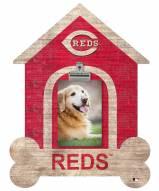 Cincinnati Reds Dog Bone House Clip Frame