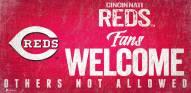 Cincinnati Reds Fans Welcome Sign