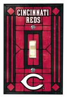Cincinnati Reds Glass Single Light Switch Plate Cover