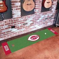 Cincinnati Reds Golf Putting Green Mat