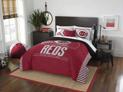 Cincinnati Reds Grand Slam Full/Queen Comforter Set