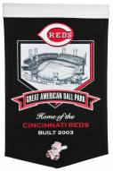 Cincinnati Reds Great American Ballpark Stadium Banner