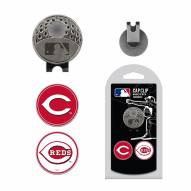 Cincinnati Reds Hat Clip & Marker Set