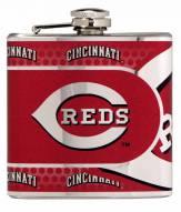 Cincinnati Reds Hi-Def Stainless Steel Flask