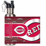 Cincinnati Reds Hi-Def Stainless Steel Water Bottle