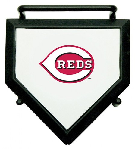 Cincinnati Reds Home Plate Coaster Set