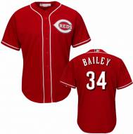 Cincinnati Reds Homer Bailey Replica Scarlet Alternate Baseball Jersey