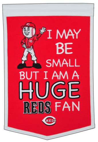 Cincinnati Reds Lil Fan Traditions Banner