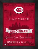 Cincinnati Reds Love You to and Back Framed Print