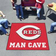 Cincinnati Reds Man Cave Tailgate Mat
