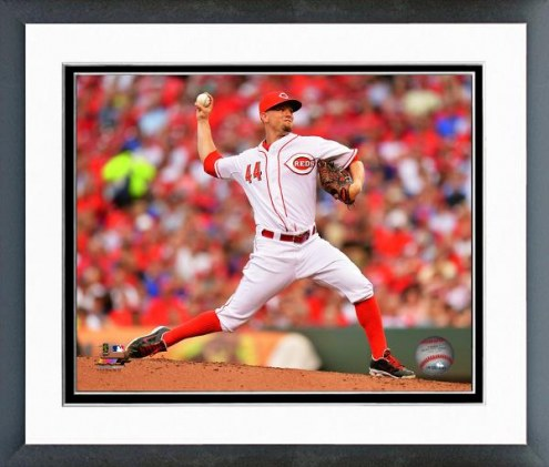 Cincinnati Reds Mike Leake 2014 Action Framed Photo