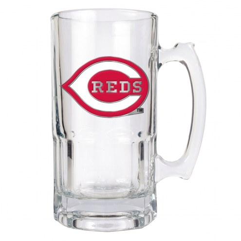 Cincinnati Reds MLB 1 Liter Glass Macho Mug