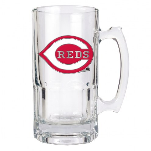 Cincinnati Reds MLB 1 Liter Glass Macho Mug