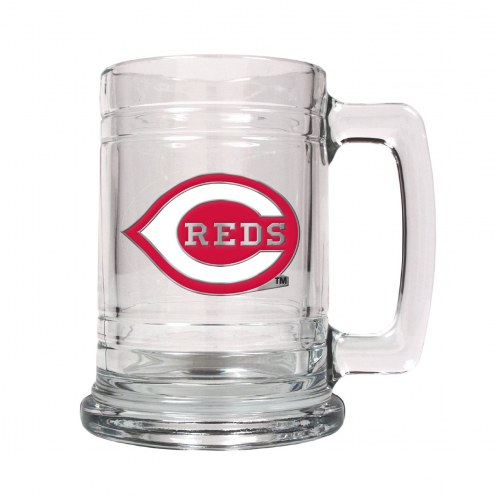 Cincinnati Reds MLB 2-Piece Glass Tankard Beer Mug Set