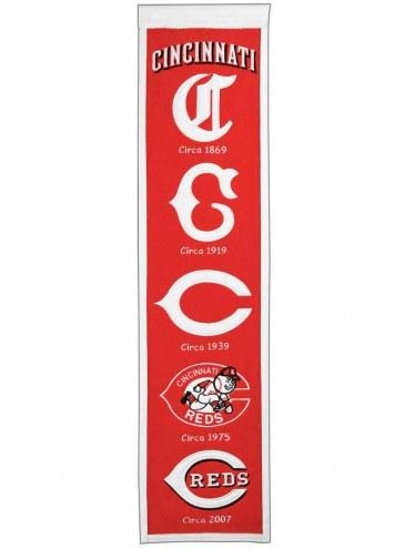 Cincinnati Reds MLB Heritage Banner