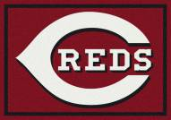 Cincinnati Reds MLB Team Spirit Area Rug