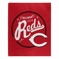 Cincinnati Reds Moonshot Raschel Throw Blanket