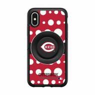 Cincinnati Reds OtterBox Symmetry Polka Dot PopSocket iPhone Case