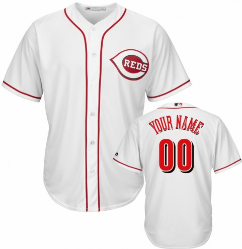 Cincinnati Reds Personalized Replica Home Baseball Jersey