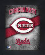 Cincinnati Reds Framed 3D Wall Art