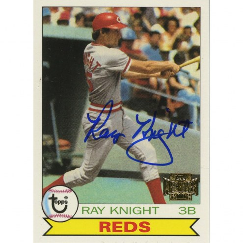 Cincinnati Reds Ray Knight Signed 2002 Topps Card