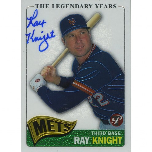 Cincinnati Reds Ray Knight Signed 2005 Topps Card