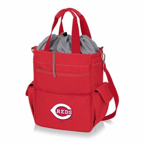 Cincinnati Reds Red Activo Cooler Tote